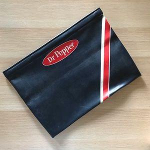 Dr. Pepper Bags - Vintage Dr. Pepper leather bag